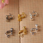 Wholesale DIY Accessories Ear Clip Earrings Three Colors Screw Spiral Ear Clip
