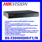 4 8 or 16ch Hikvision Turbo DVR CCTV 1080p HD TVI Video Recorder DS-7200HQHI-F1