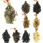 New Headband Short Wavy Ponytails Synthetic Ponytail Hair Band Hair Extensions