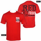 Licensed CHRIS KYLE Frog Foundation Red Friday Logo Men's Red T-Shirt S-3XL NEW