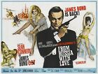Home Wall Print - Vintage Movie Film Poster - FROM RUSSIA WITH LOVE- A4,A3,A2,A1 £16.99 GBP