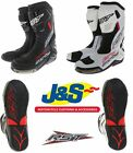 RST PRO SERIES 1503 RACE BOOTS BLACK WHITE MOTORCYCLE MOTORBIKE J&S ONLY £119.99
