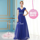 BREE Cobalt Blue Full Length Prom Evening Cruise Bridesmaid Dress UK SALE!!!