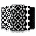 HEAD CASE DESIGNS BLACK AND WHITE PATTERNS SOFT GEL CASE FOR SONY PHONES 2