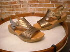 BareTraps Bronze Leather Jordy Perofrated Sandal NEW