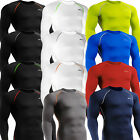 Mens  Womens BASELAYER SKIN Compression Long sleeve shirts Tight under Top