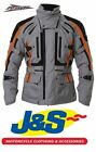 RST PARAGON V 1416 WATERPROOF MOTORCYCLE JACKET TOURING SILVER FLO RED J&S 5 WP