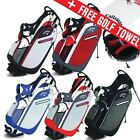 Callaway Golf Hyper-Lite 3 Mens Stand Carry Bag 4-Way Divider + FREE GIFT