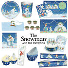 The Snowman™ Christmas Items - Cake Frill Decorations Edible Toppers Plates Etc.