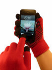 TouchAbility Grip Touchscreen Gloves - 10 Finger Touch Screen, iPhone compatible