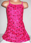 GIRLS BRIGHT PINK EMBROIDERED SEQUIN RIBBON EVENING DANCE PARTY DRESS