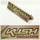 Kush Brand Unbleached King Size Slim Rolling Papers Multi Quantity Listing
