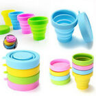 Portable Silicone Faddish Folding Cup Telescopic Collapsible Outdoor Travel