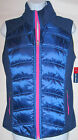 """""""REEL LEGENDS"""" PUFFY VEST NAVY BLUE & PINK SMALL AND MEDIUM SIZES MSRP $50.00"""