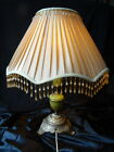 Vintage Art Deco Reproduction Brass & Onyx Marble Table Lamp