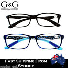 G&G Mens Ladies Stylish Trendy Non-slip Arms Reading Glasses +1.0~3.5