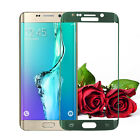 New 3D Curved Edge Full Cover Tempered Glass For Samsung S6 S7 edge Plus