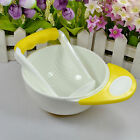 Baby Infant Learn Dishes Grinding Bowl Kids Handmade Grinding Food Mill Popular
