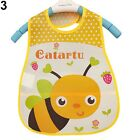 New Cartoon Kids Turn Translucent Plastic Bibs Child EVA Soft Waterproof Bibs CA