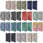 OFFICIAL MICKLYN LE FEUVRE MANDALA LEATHER BOOK WALLET CASE COVER FOR APPLE iPAD