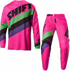 NEW 2017 SHIFT RACING WHITE LABEL TARMAC COMBO DIRT BIKE BLACK/PINK ALL SIZES