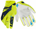 Shift Racing Flo Yellow/Black/White Black Label Pro Mainline Dirt Bike Gloves MX
