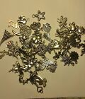 Tibetan Silver/Gold Charms No Rings For Bracelet US SELLER FAST SHIPPING