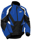 Castle Mens Blue/Black/White Platform G4 Snowmobile Jacket Snow Snowcross
