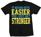 TapouT Never Gets Easier T-shirt - Official UFC MMA Kickboxing Apparel