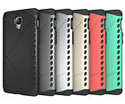 For OnePlus Three 3 Case Hybrid Armor Soft Touch Matte Protective Phone Cover