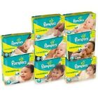Baby Pampers Swaddlers Diapers Jumbo Pack All Size Preemie Newborn 1 2 3 4 5 6 )