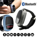 Hands-free Sport Bluetooth Smart Watch Speaker Time Display FM/TF MP3 Player NEW