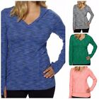 NEW WOMENS KIRKLAND ACTIVE PULLOVER HOODIE STRETCH HOODIE MEDIUML You Pick Color
