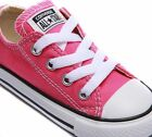Converse Trainers Pink Kids Girls Boys Sneakers Children Sport Shoes All Sizes~