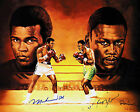 MUHAMMAD ALI v JOE FRAZIER 14 (BOXING) SIGNED PHOTO PRINT 14