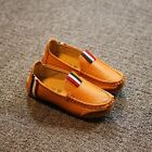 2016 New boy children Genuine Leather kids Slip On Flats Casual Shoes
