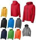 MENS BREATHABLE WATERPROOF, RAIN JACKET, ZIP OFF HOOD, POCKETS S M L XL 2X 3X 4X