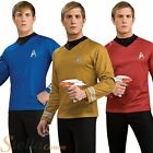 Adult Mens Deluxe Star Trek Shirts Movie Fancy Dress Costume Adult Outfit on eBay