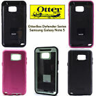 New OtterBox Defender Series Case for Samsung Galaxy Note 5 Black Pink Green