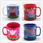 Cartoon Peppa Pig PVC Children Mug Pig Mug Water Coffee Cups Learn to Drink Cup