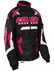 Castle Womens Hot Pink/Black Bolt G3 Snowmobile Jacket Snow Snowcross