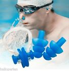 1Set Adults Pairs Protector For Swimming Silicone Soft Ear Plugs + Nose Clip