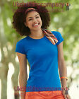 Fruit Of The Loom Lady-Fit Sofspun® T-Shirt - Womens short sleeve top XS to 2XL
