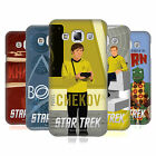 OFFICIAL STAR TREK EMBOSSED ICONIC CHARACTERS TOS BACK CASE FOR SAMSUNG PHONES 3