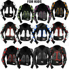 Kids Child Motorcycle Protector Guard Jacket Motorbike Spine Body Armour