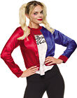 Suicide Squad Harley Quinn Jacket And Shirt Jokers Girl Halloween Costume
