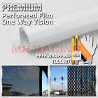 *11 Sizes of Perforated One Way Vision Print Media Vinyl Privacy Window Film