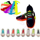 Cool Easy No Tie Elastic Shoe Lace Silicone Trainers Shoes Adult Kids Shoelaces