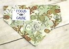 Camouflage Skulls and Crossbones Dog Bandana, Focus for a Cause