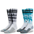 "Stance x Nyjah Houston Fusion Skate ""Cloudy"" Socks Athletic Men's Tie-Dye Crew"